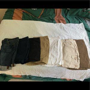 7 Pairs of Shorts